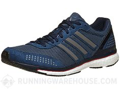 official photos 989cd 13bcd adidas adizero adios Boost 2 Mens Shoes VisBlueNavy