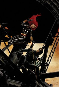 Winter Soldier #8 - Black Widow and Bucky Barnes by Steve Epting *