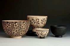A collaboration of works by Michael and Cynthia Gibson. Woodturnings by Michael Gibson. Pyrography by Cynthia Gibson. Wood Turning Lathe, Wood Turning Projects, Wood Lathe, Woodworking Lathe, Learn Woodworking, Michael Gibson, Wood Carving Tools, Lathe Projects, Small Pen