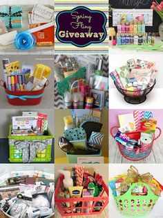 Gift Baskets are always SO fun to receive – but do you struggle with how to put together the perfect personalized bundle for somebody else? I created an easy and sweet DIY gift basket for a… Raffle Baskets, Diy Gift Baskets, Homemade Gift Baskets, Basket Gift, Holiday Gifts, Christmas Gifts, Auction Baskets, Jar Gifts, Creative Gifts