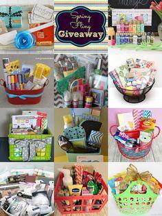 Spring Fling GIVEAWAY! 11 baskets full of favorites!