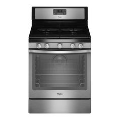 809 at lowes Whirlpool�30-in 5-Burner Freestanding 5.8-cu ft Self-Cleaning Convection Gas Range (Stainless Steel)