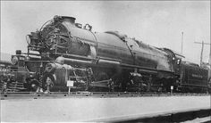 Pennsylvania Railroad HC1 #3700 2-8-8-0 Atlantic City, N.J. June, 1919