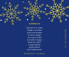 Poesia per bambini sul mese di gennaio Winter Time
