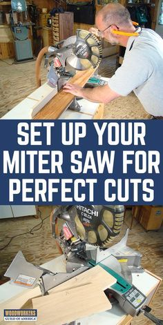 If you've got a miter saw in your shop you probably rely on it for perfectly square cuts, and maybe for cutting angles, too. Follow these simple set up tips to tune up your saw so it's singing an accurate song.