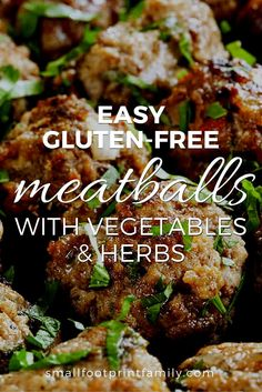This gluten free meatball recipe fits a variety of special diets such as GAPS, Paleo, Nutritional Balancing or Keto. They are quick, easy, nutritious, and so delicious! #paleo #paleodiet #glutenfree #dairyfree #keto #recipe #grainfree #realfood