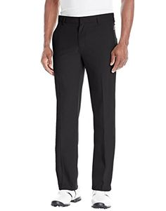 UK Golf Gear - Adidas Golf 2017 Ultimate 3-Stripe Trousers Stretch Mens Performance Pant Tapered Leg