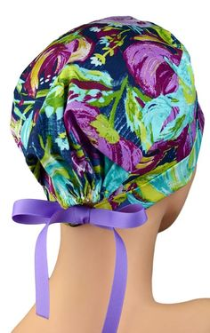 Scrub Hats // Scrub Caps // Scrub Hats for Women // The Hat Scrub Hat Patterns, Scrubs Pattern, Diy Love, Surgical Caps, Scrub Hats, Hats For Women, Perfect Fit, Sewing Patterns, Long Hair Styles