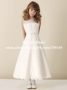 Robe blanche pour communion