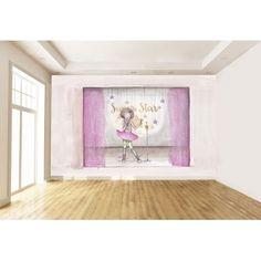 """Mural Infantil Personalizado """"SUPER STAR"""""""