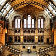"Natural History Museum in Queen's Gate, Greater London featured in Elena Damiani's ""London."" http://www.coleccioncisneros.org/editorial/artists-cities/elena-damiani-london"