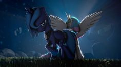 Standing Tall against the Darknes by indexpony.deviantart.com on @DeviantArt