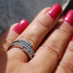 Coal Ring Naemi - rostfritt stål