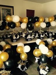 Image Result For Black White And Gold Baby Shower Birthday