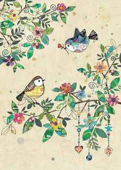 Quality greeting cards designed and published in the UK. Browse our ranges and shop online for decorative everyday designs and Christmas cards. Bird Drawings, Cute Drawings, Bug Art, Embroidery Art, Fabric Art, Watercolor Illustration, Doodle Art, Quilting Designs, Textile Artists