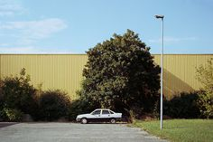 """""""Untitled"""" from Human Landscapes, Dennis Iwaskiewicz, 2014 Yellow Car, Vienna, Photo Book, Landscapes, Shed, Places, Prints, Pictures, Photography"""