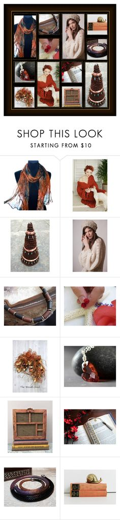 """""""Dark Beauties"""" by inspiredbyten ❤ liked on Polyvore featuring Braun and vintage"""