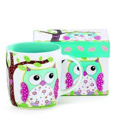 Owl Mug... I gotta have this!! :D