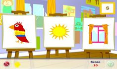 Learning Phonics: The Painting Game. Beginning Sounds Game  http://learningphonics.blogspot.com