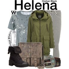Inspired by Tatiana Maslany as Helena on Orphan Black.