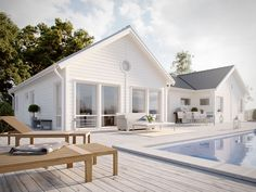 Hamptons Style Homes, Hamptons House, Bungalow, England Houses, Tiny House Cabin, Dream House Exterior, Modern Farmhouse Style, House Goals, House Front