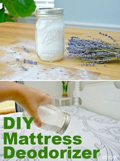 Refresh the thing you sleep on every nuight with this DIY mattress deodorizer! Full DIY recipe here: http://www.ehow.com/way_5559133_diy-mattress-deodorizer.html?utm_source=pinterest.com&utm_medium=referral&utm_content=freestyle&utm_campaign=fanpage