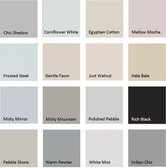 Dulux White Duck Half Strength Colour Scheme For The New