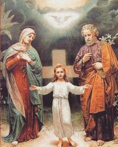 Trinité, Marie et Joseph