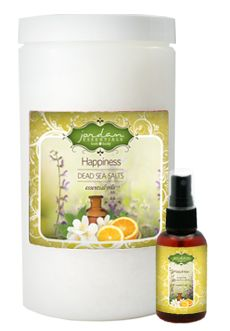 Mothers Day Special- Happiness Sea Salt and Spray Set from Jordan Essentials CLICK IMAGE FOR FULL DETAILS via BuyDirectUSA.com Like - Share - Repin