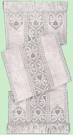 Heirloom Crochet - Vintage Crochet Patterns - Mary E. Fitch - Filet Crochet