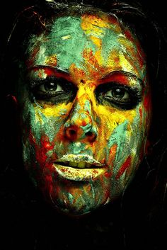 Exotic Portraits in Paints - Photography by Physiotherapist | AnimHuT