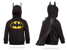 Batman Costume Hoodie... this was in the Holidays section, but I would wear this errday. ALL DAY!