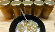 Jak uvařit jablečný džem se zázvorem z letních jablek   recept Fondue, Food To Make, Pudding, Homemade, Ethnic Recipes, Kitchen, Desserts, Syrup, Tailgate Desserts