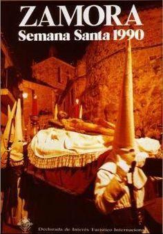 Cartel de la Semana Santa de Zamora 1990