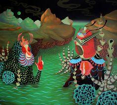 Bruno 9li, lowbrow art, pop surrealism