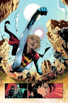 Earth 2 society #powergirl