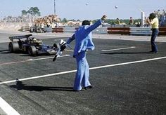 Ronnie Peterson takes his first ever win at the 1973 French Grand Prix at Paul Ricard driving a Lotus-Ford.