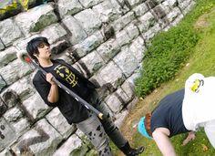 """kneel down! :D - Hikaru shachi, Yuu Tori(Mockingbird) Trafalgar Law Cosplay Photo"""
