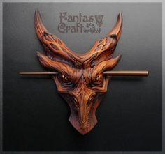 Wooden Jewelry, Leather Jewelry, Leather Craft, Dremel Carving, Wood Carving, Fantasy Hair, Fantasy Makeup, Dragon Crafts, Dragon Necklace