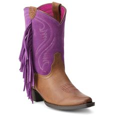 Ariat Kid's Fancy Fringe Western Boots