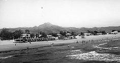 La platja als anys 40