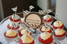Girls Night In: Fifty Shades of Grey Party: Red Room of Pain Cupcakes