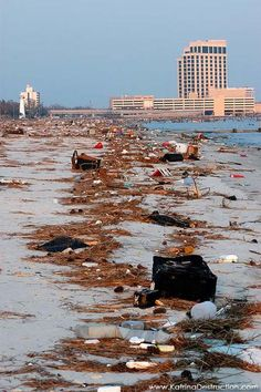 Biloxi, Mississippi after Katrina. I didn't like this pin because I don't like it, but I pin so others can see.