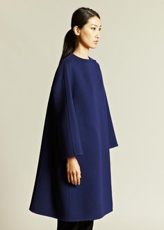 Jil Sander Women's Mauritius Double Face Coat | LN-CC