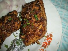YUMMY TUMMY: Grilled Chicken / Oven Roasted Chicken Legs with a Twist – Indian Style