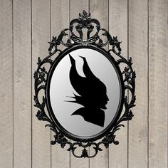 Maleficent Silhouette Maleficent Party Decor by WhitetailDesigns