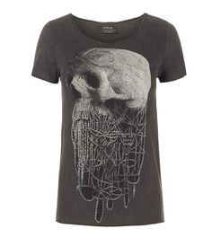 Noose Tee, Women, Graphic T-Shirts, AllSaints Spitalfields