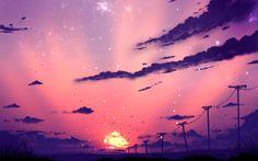 Purple Sky ( auction - CLOSED ) by ryky.deviantart.com on @DeviantArt