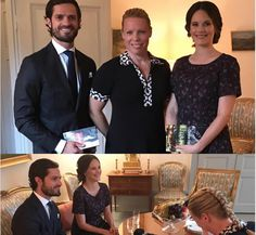 New Prince Couple of Sweden in a new interview with Caroline Engvalli