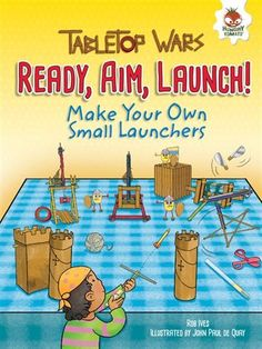 Send paper clips flying with your own miniature launcher! Step-by-step instructions are used in this book to demonstrate basic engineering and physics skills for kids. Science Curriculum, Stem Science, Fiction And Nonfiction, Children's Literature, How To Apply, How To Make, Step By Step Instructions, All You Need Is, Make Your Own